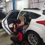 4 chất liệu được học trong chương trình dạy bọc ghế da ô tô