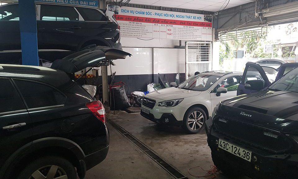 Đào tạo chăm sóc xe hơi chuyên nghiệp, cam kết tay nghề