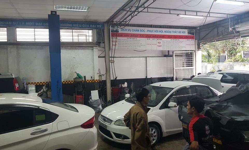 Địa chỉ dạy nghề chăm sóc xe hơi TỐT NHẤT, cam kết đầu ra