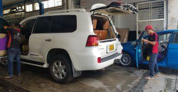 Các bước chăm sóc nội thất xe hơi đơn giản và đúng cách