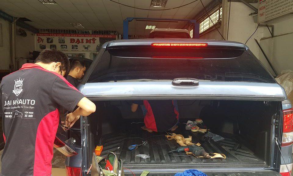 Các bước đào tạo rửa xe ô tô, dạy rửa xe chuyên nghiệp