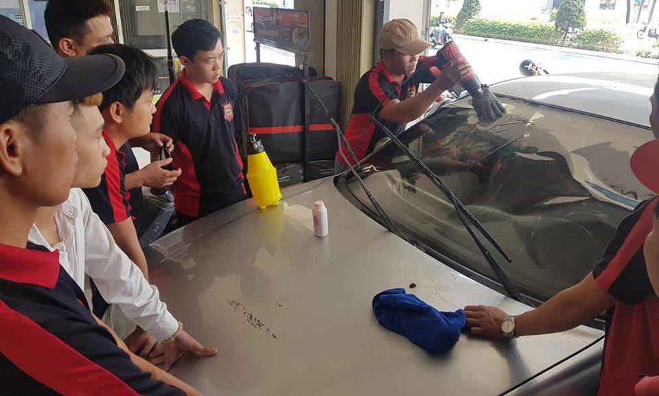 Khóa học nghề đào tạo chăm sóc xe hơi chuyên nghiệp ở Đại Mỹ