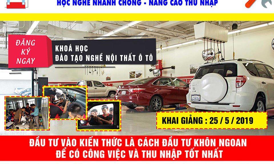 Trung tâm đào tạo chăm sóc xe hơi, dạy nghề tiêu chuẩn Quốc tế