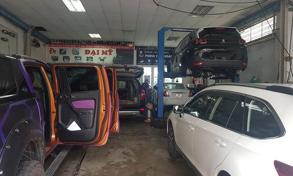Khóa dạy nghề chăm sóc xe hơi, đào tạo từ cơ bản đến nâng cao