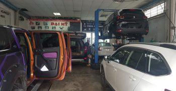 Đào tạo chăm sóc xe hơi chuyên nghiệp, dạy học nghề tốt nhất